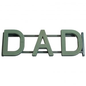 "Oasis Floral Frame ""DAD"" 