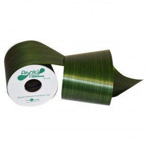 Aspidistra Decorative Waterproof Ribbon Emerald | Younger and Son | Floral Wholesaler and Supplies