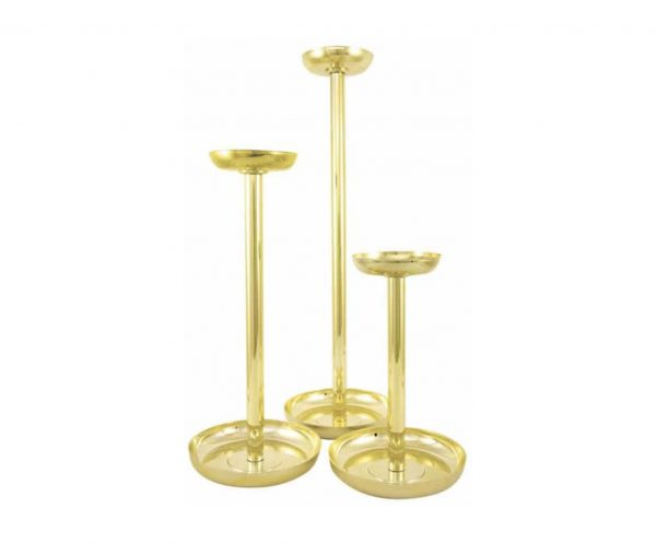 Gold Centerpiece Risers Set | Younger and Son | Floral Wholesaler and Supplies