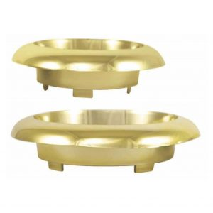 5 inch Small Ming Bowl Gold | Younger and Son | Floral Wholesaler and Supplies