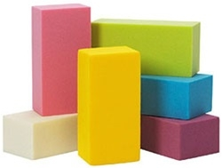Oasis Rainbow Foam Bricks