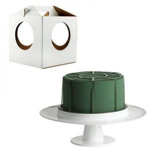 Cake Kit with Pedestal and Carrier
