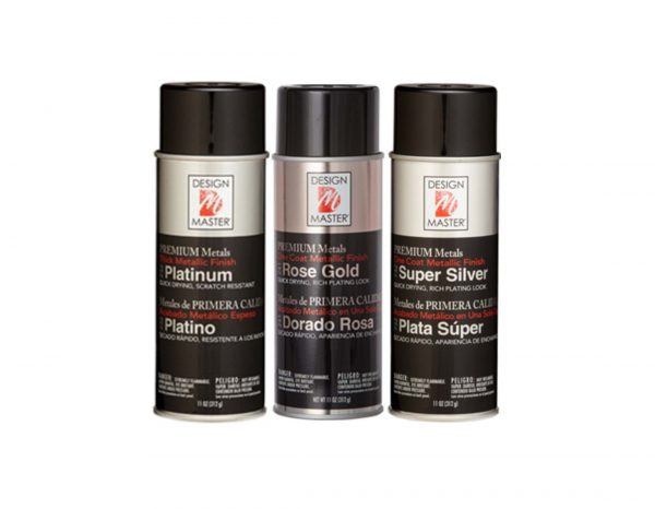 Design Master Premium Metals Spray Paint | Younger and Son | Floral Wholesaler and Supplies