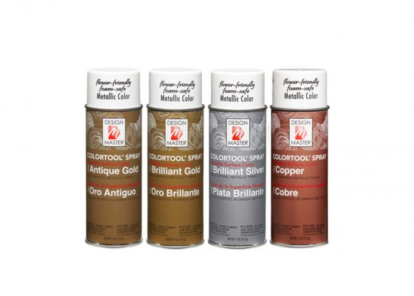 Design Master ColorTool Spray Metals | Younger and Son | Floral Wholesaler and Supplies