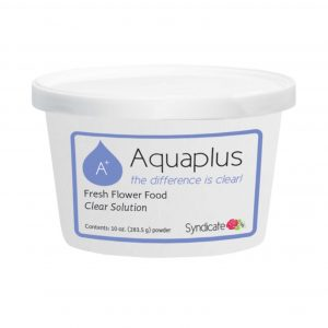 Aquaplus Fresh Flower Food Clear Solution 10 ounce Powder | Younger and Son | Floral Wholesaler and Supplies