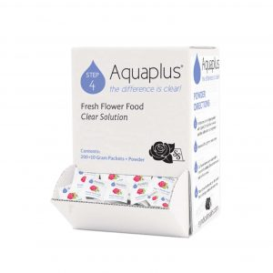 Aquaplus Fresh Flower Food Clear Solution 10 gram Packets 200 count | Younger and Son | Floral Wholesaler and Supplies