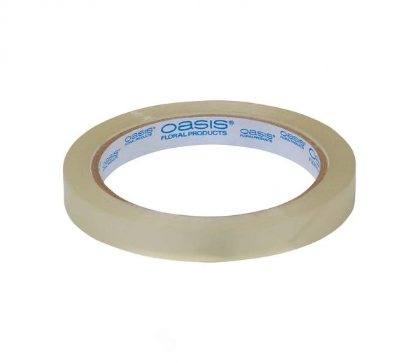 1/2 inch Clear Floral Tape Roll | Younger and Son | Floral Wholesaler and Supplies